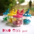 Dino Egg Jars