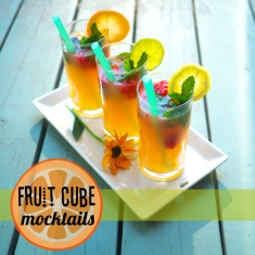 Fruit Cube Mocktails Header