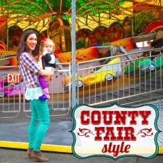 County Fair Style Header