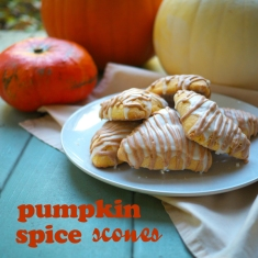 Pumpkin Scone Recipe Header