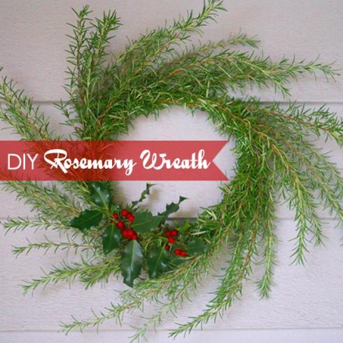 Rosemary Wreath Header